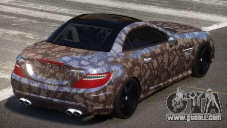 Mercedes Benz SLK Qz PJ3 for GTA 4
