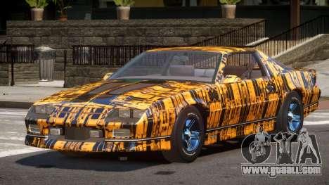 Chevrolet Camaro IR PJ1 for GTA 4