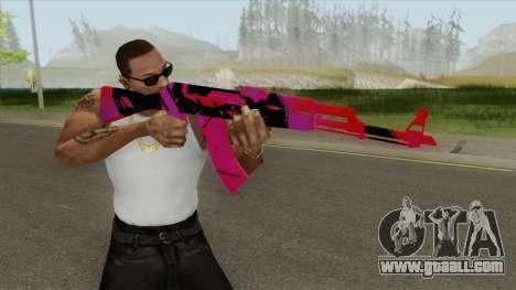 AK-47 (Nebula) for GTA San Andreas