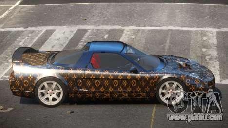 Honda NSX-R LT PJ1 for GTA 4