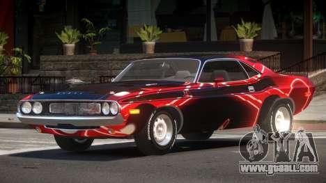 1972 Dodge Challenger RT PJ2 for GTA 4