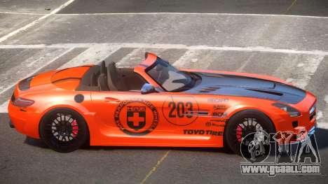 Mercedes-Benz SLS H-Style PJ2 for GTA 4