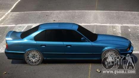 BMW 525I E34 for GTA 4