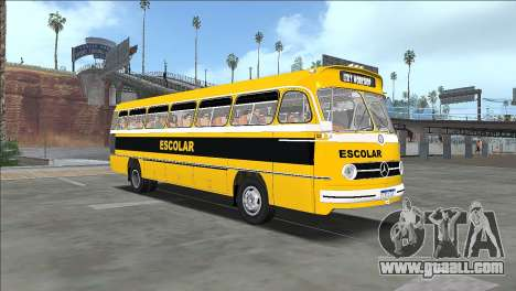 Bus Mercedes-Benz O-321 HL 1958 for GTA San Andreas