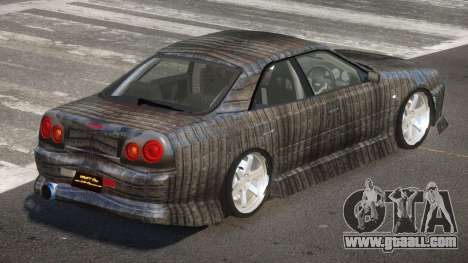 Nissan Skyline R34 SRS PJ5 for GTA 4