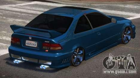 Honda Civic D-Tuned for GTA 4