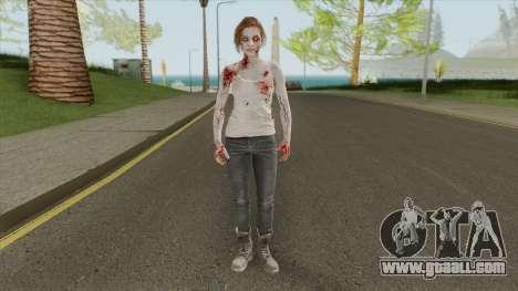 Jill Valentine V2 (RE3 Remake) for GTA San Andreas