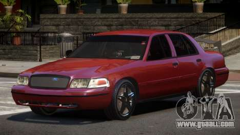 Ford Crown Victoria R-Tuned for GTA 4