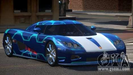 Koenigsegg CCX S-Tuned PJ2 for GTA 4