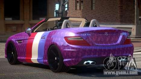 Mercedes Benz SLK DDS PJ2 for GTA 4
