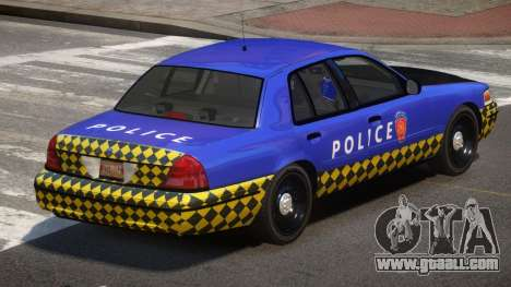 Ford Crown Victoria LT Police for GTA 4
