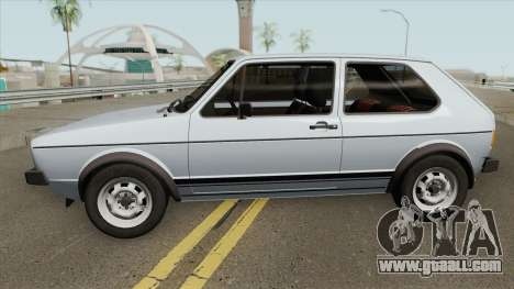 Volkswagen Golf GTI MKI (RHA) for GTA San Andreas