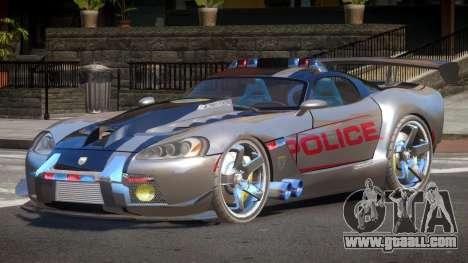 Dodge Viper SRT Police V1.1 for GTA 4