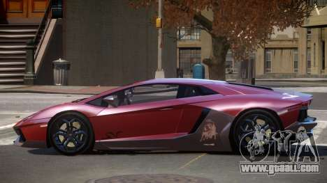 Lamborghini Aventador JRV PJ2 for GTA 4