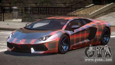 Lamborghini Aventador S-Style PJ6 for GTA 4