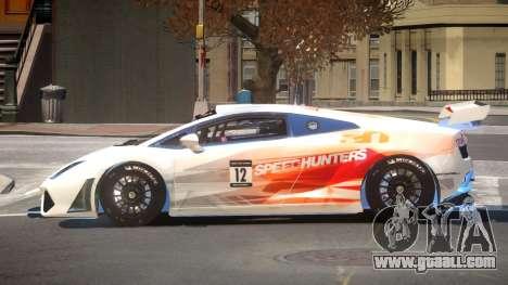 Lamborghini Gallardo LP560 SR PJ4 for GTA 4