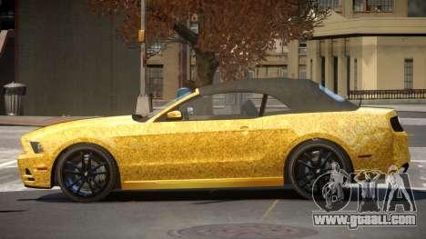 Ford Mustang GT CDI PJ4 for GTA 4