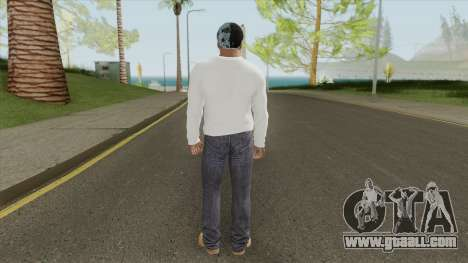 Franklin Clinton (White Outfit) for GTA San Andreas