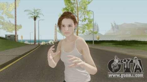Jill Valentine V1 (RE3 Remake) for GTA San Andreas