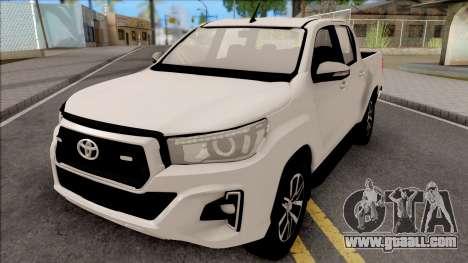 Toyota Hilux Revo Rocco 2019 for GTA San Andreas