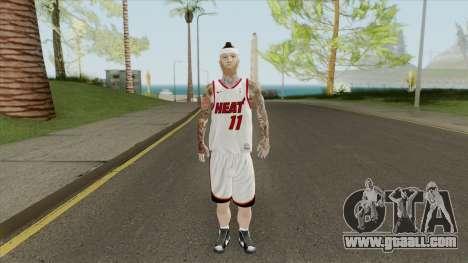 Chris Andersen (Miami Heat) for GTA San Andreas