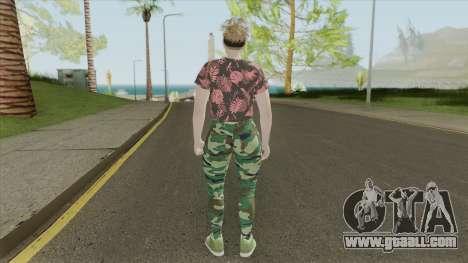 Random Female Skin V1 (GTA Online) for GTA San Andreas