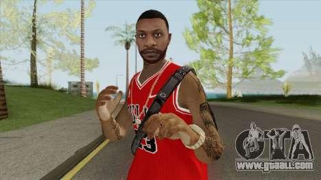 Random Male V2 (Chicago Bulls) for GTA San Andreas