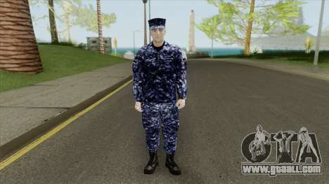 US Navy Soldier for GTA San Andreas