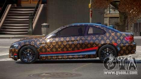 BMW M3 E92 LR PJ1 for GTA 4