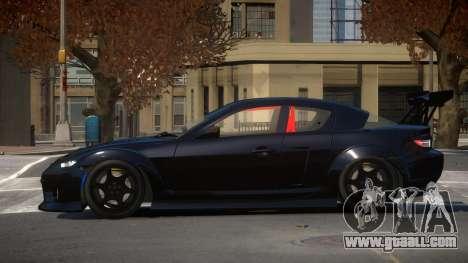 Mazda RX8 S-Tuned for GTA 4