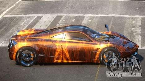 Pagani Huayra GBR PJ1 for GTA 4
