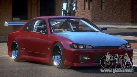Nissan Silvia S15 D-Tuned for GTA 4