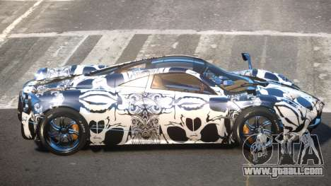 Pagani Huayra R-Tuned PJ3 for GTA 4