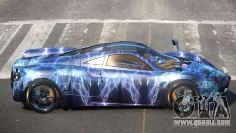 Pagani Huayra GBR PJ2 for GTA 4