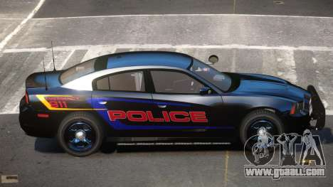 Dodge Charger JBR Police for GTA 4