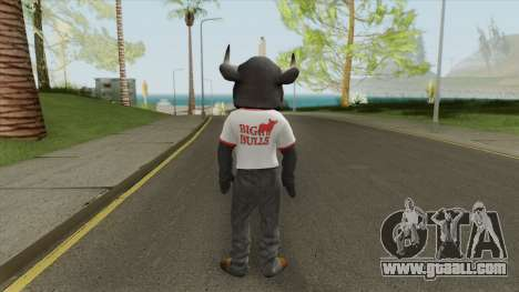 Big Bull Mascot (Dead Rising 3) for GTA San Andreas