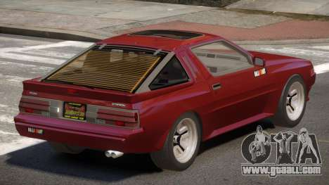 Mitsubishi Starion SR for GTA 4
