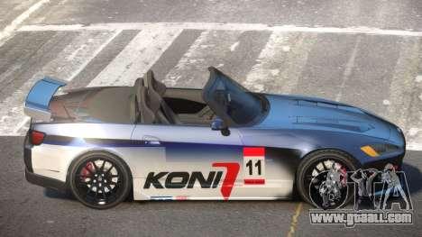 Honda S2000 D-Style PJ6 for GTA 4