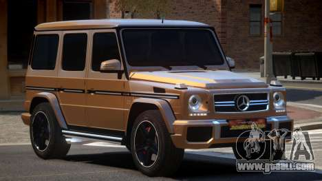 Mercedes Benz G65 B-Style for GTA 4