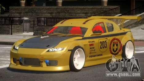Mazda RX8 S-Tuned PJ3 for GTA 4