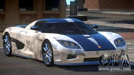 Koenigsegg CCX S-Tuned PJ4 for GTA 4