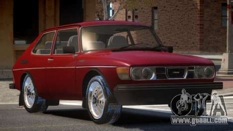1980 Saab 99 Turbo for GTA 4