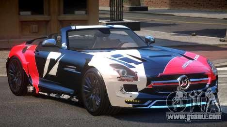 Mercedes-Benz SLS H-Style PJ6 for GTA 4