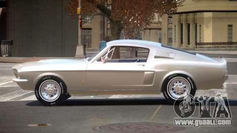 Shelby GT 500 SR for GTA 4