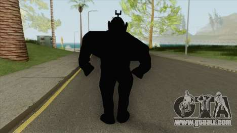 Shadow Tubbie (SlendyTubbies 3) for GTA San Andreas