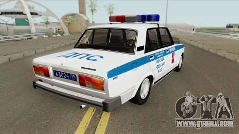 VAZ 2105 DPS (Police of Moscow) for GTA San Andreas
