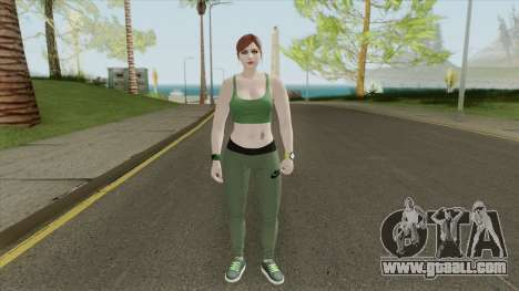 Random Female Skin V3 (Sport Gym) for GTA San Andreas