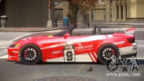 Honda S2000 D-Style PJ4 for GTA 4