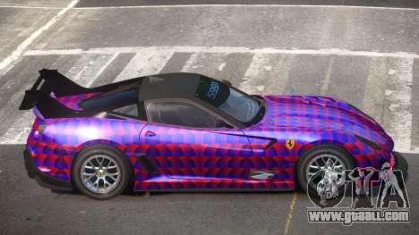 Ferrari 599XX R-Tuning PJ6 for GTA 4