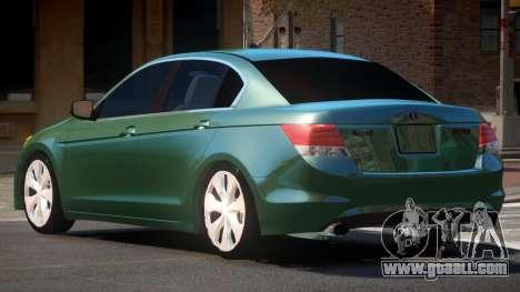 Honda Accord SE for GTA 4